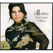Cd Vanilda Bordieri - As 60 Melhores [cd-triplo]