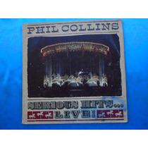 Lp Dupl Phil Collins P/1990 Serious Hits....live