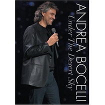 Dvd Andrea Bocelli: Under The Desert Sky [eua] Novo Lacrado