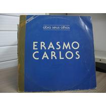 Lp Erasmo Carlos Abra Seus Olhos Promo Mix Single