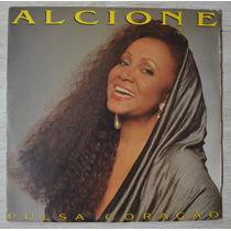 Lp Vinil - Alcione - Alcione - Pulsa Coração - Com Encarte
