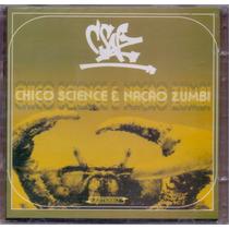 Cd Duplo Chico Science & Nação Zumbi - Dia E Noite - Novo***