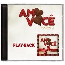 Amo Você - Volume 20 *lançamento* - Playback - Mk Music