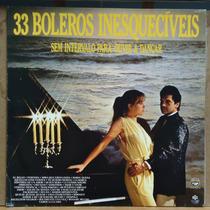 Lp (423) - Tangos E Boleros - 33 Boleros Inesquecíveis