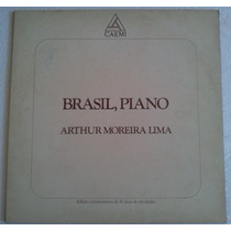 Lp Arthur Moreira Lima Brasil Piano Kuarup Discos