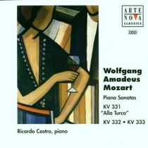 Cd Mozart Piano Sonatas 11-13