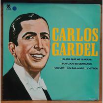 Lp (423) - Tangos E Boleros - Carlos Gardel