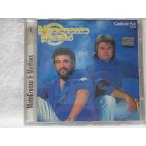 Cd - Matogrosso E Mathias - Canto De Paz - Vol.10