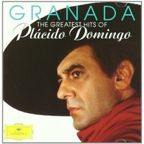 Cd Placido Domingo Granada: The Greatest Hits Granada
