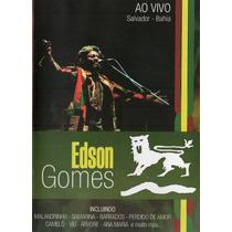 Dvd Edson Gomes - Ao Vivo Salvador - Bahia