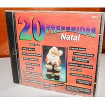 Cd - 20 Preferidas De Natal (como Novo)