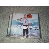 Cd - Cody Simpson Paradise Album De 2012