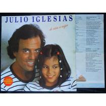 Julio Iglesias - De Niña A Mujer - Lp Vinil + Encarte