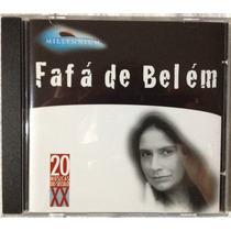 Cd Fafá De Belém Millenium Coletânea Best Of Original Mpb