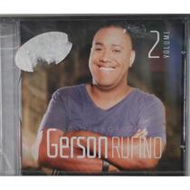 Cd O Melhor De Gerson Rufino - Vol. 2 / Bônus Playback.