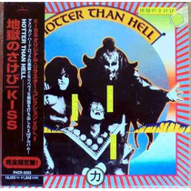 Cd Kiss Hotter Than Hell - Japao