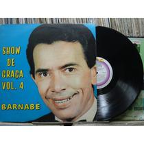 Barnabé Show De Graça Vol.4 Lp Continental Humor Anedotas
