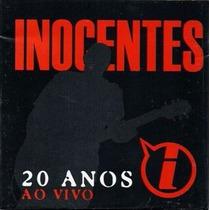 Cd - Inocentes: 20 Anos Ao Vivo(2001)