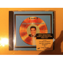 Cd Elvis Presley - Gold Records Volume 3 - Importado