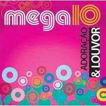 Cd Mega 10 - Adoração & Louvor - Graça Music * Original