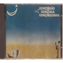 Cd Luizinho De Gonzagão, Gonzaga E Gozanguinha - Raro