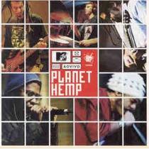 Cd Planet Hemp - Mtv Ao Vivo - Original E Lacrado !!!