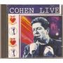 Cd Leonard Cohen - Live In Concert 1994