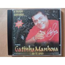 Edson Lima E Gatinha Manhosa- Cd Eu Te Amo- 2002- Zerado!