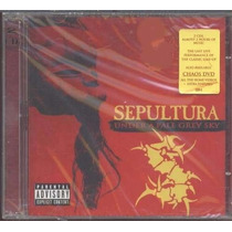 Cd Sepultura Under A Pale Grey Sky Novo/lacrado