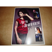 Amy Winehouse Grande Poster/cartaz Cantora Soul Jazz R&b