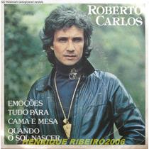 Roberto Carlos Compacto 7 Emoções + Tudo Para + Cama E Mesa