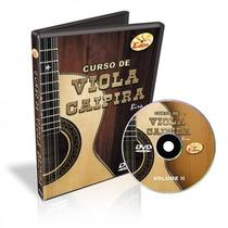 Dvd Edon Curso De Viola Caipira Vol 2 Na Cheiro De Musica