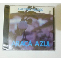 Cd Caetano Veloso - Araçá Azul (lacrado Do Box)