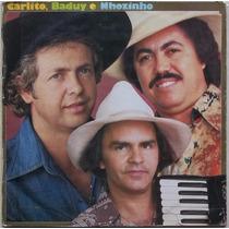 Lp Carlito, Baduy E Nhozinho (1980)