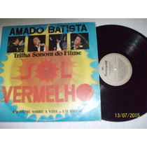 Lp Vinil Amado Batista.sol Vermelho.