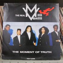 Lp Milli Vanilli The Moment Of Truth Exx Estado