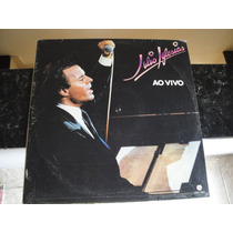 Lp Duplo Julio Iglesias Ao Vivo + Poster Do Cantor.
