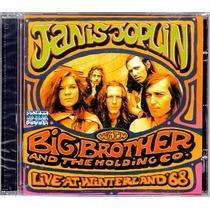 Janis Joplin Big Brother : Live At Winterland 68 Cd Lacrado