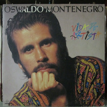 Lp Oswaldo Montenegro Vida De Artista Exx Estado + Encarte