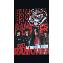 Dvd Ramones Live At Musikladen Berlin 1978.