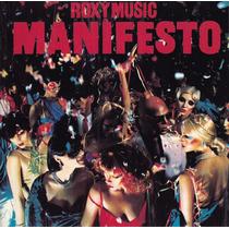 Cd Roxy Music - Manifesto (importado E Lacrado) 1979