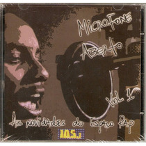 Cd Espaço Rap Novidades - Microfone Aberto Vol. 1 - Novo***