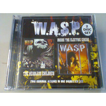 Wasp The Headless Children & Inside The E.(cd Duplo Lacrado)