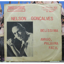 Nelson Gonçalves Belissima Compacto Vinil Rca Victor