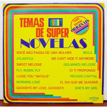 Lp Vinil - Temas De Super Novelas - Originais - 1976