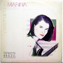 Vinil / Lp - Personalidade Marina Lima - The Best Of Brazil