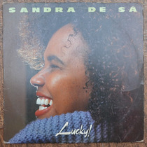 Lp Vinil - Sandra De Sá - Lucky!