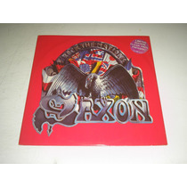 Lp Saxon - Rock The Nations - Single ( Importado )
