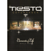 Dvd Tiesto - Copenhagen Elements Of Life World Tour (duplo)