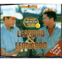 Cd Leandro E Leonardo Primeiro Disco Da Dupla - Lacrado